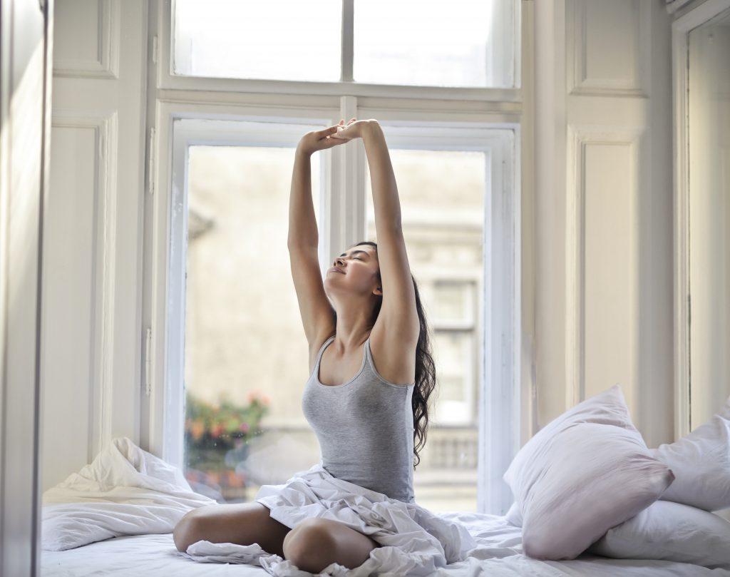 meditatie in bed