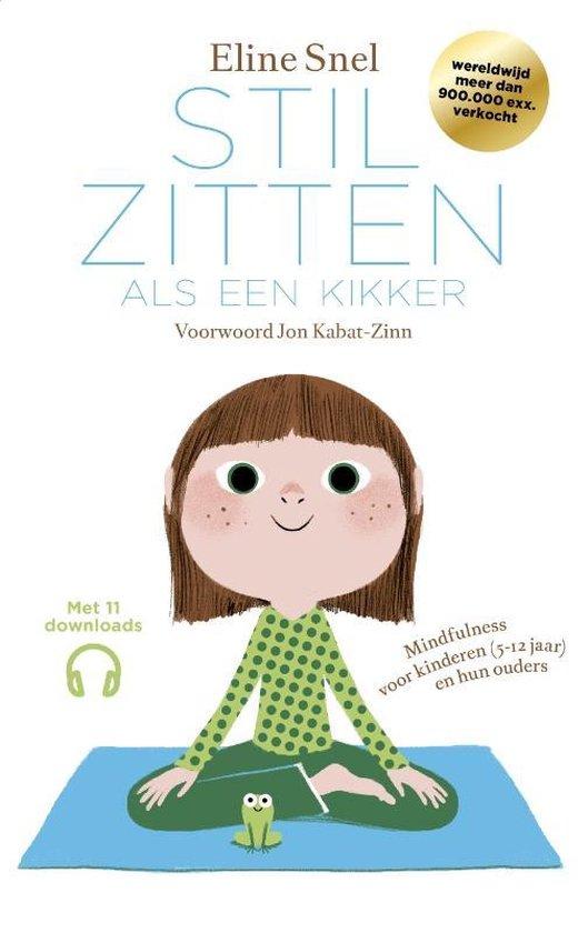 Mindfulness boek kinderen stilzitten als een kikker