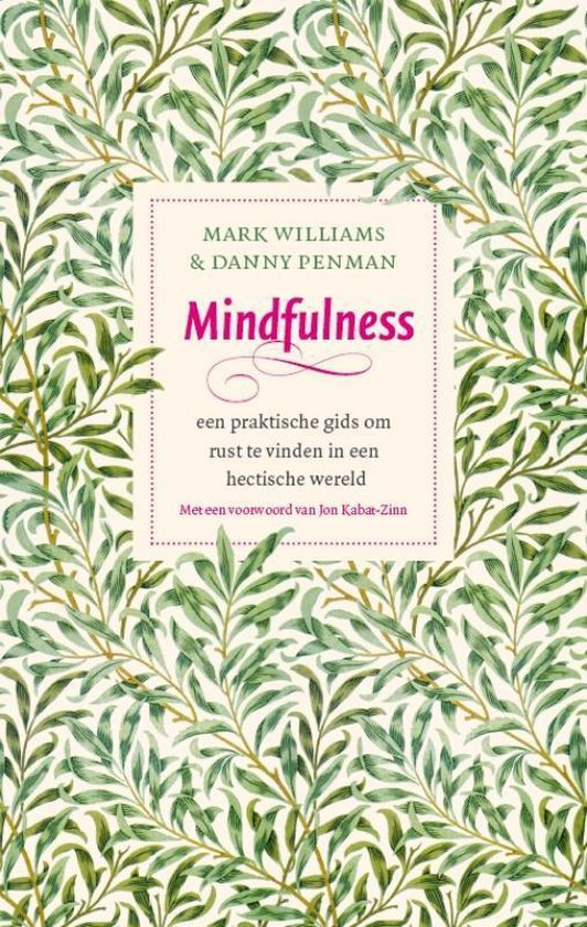 boeken over Mindfuless Mark Williams MBCT